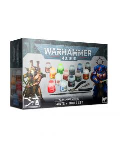 Warhammer 40k: Paints & Tools Set