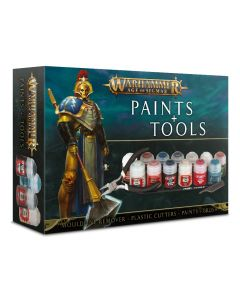 Warhammer AoS: Paints & Tools Set
