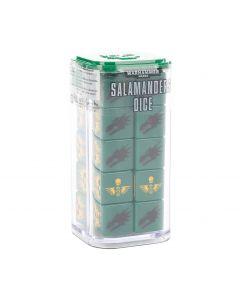 Warhammer 40k: Salamanders Dice Set