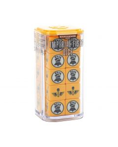 Warhammer 40k: Imperial Fists Dice Set