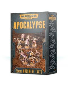 Warhammer 40k: Apocalypse: Movement Trays (25mm)