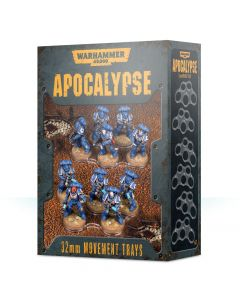 Warhammer 40k: Apocalypse: Movement Trays (32mm)