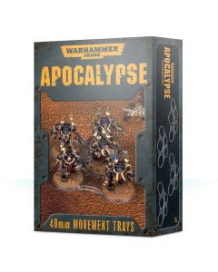 Warhammer 40k: Apocalypse: Movement Trays (40mm)