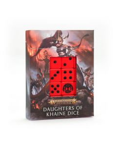 Warhammer AoS: Daughters of Khaine: Dice Set