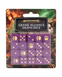 Warhammer AoS: Grand Alliance Death Dice Set