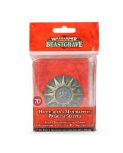Warhammer Underworlds: Beastgrave: Hrothgorn's Mantrappers Premium Sleeves