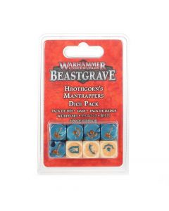 Warhammer Underworlds: Beastgrave: Hrothgorn's Mantrappers Dice Set