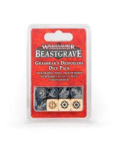 Warhammer Underworlds: Beastgrave: Grashrak's Despoilers Dice Pack
