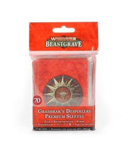 Warhammer Underworlds: Beastgrave: Grashrak's Despoilers Premium Sleeves
