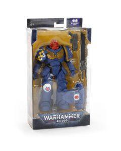 Warhammer 40k: Ultramarines Primaris Assault Intercessor Sergeant Action Figure