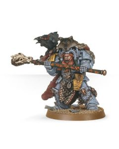 Warhammer 40k: Space Wolves: Njal Stormcaller in Terminator Armour
