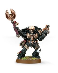 Warhammer 40k: Space Marines: Chaplain with Skull Helmet