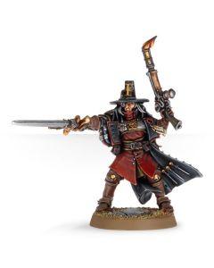Warhammer 40k: Inquisitor with Inferno Pistol & Power Sword