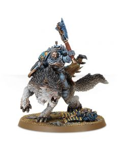 Warhammer 40k: Space Wolves: Wolf Lord on Thunderwolf