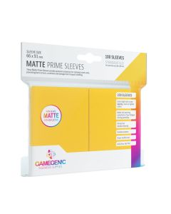 Matte Prime Sleeves: Yellow