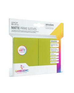 Matte Prime Sleeves: Lime