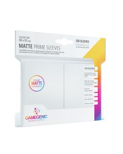 Matte Prime Sleeves: White