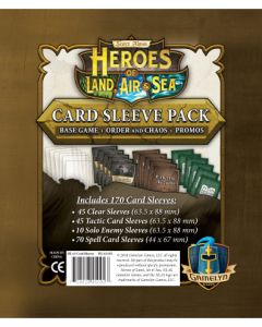 Heroes of Land, Air & Sea: Comprehensive Sleeve Pack