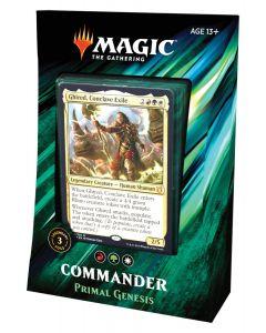 Magic The Gathering: Commander 2019: Primal Genesis