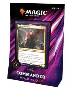 Magic The Gathering: Commander 2019: Merciless Rage