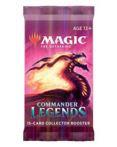 Magic the Gathering: Commander Legends: Collector Booster Pack