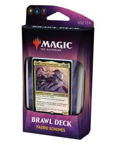 Magic The Gathering: Throne of Eldraine Brawl Deck: Faerie Schemes