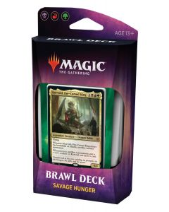 Magic The Gathering: Throne of Eldraine Brawl Deck: Savage Hunger