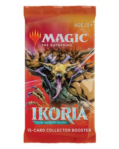 Magic The Gathering: Ikoria: Lair of Behemoth Collector Booster (Japanese version)