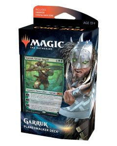 Magic the Gathering: Core Set 2021 Garruk Planeswalker Deck