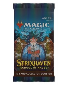 Magic The Gathering: Strixhaven: School of Mages: Collector Booster Pack