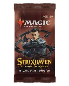 Magic the Gathering: Strixhaven: School of Mages Draft Booster Pack