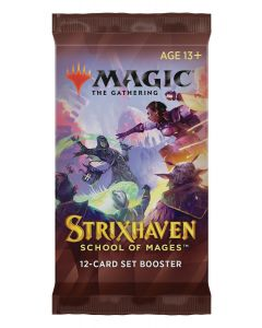 Magic the Gathering: Strixhaven: School of Mages Set Booster Pack