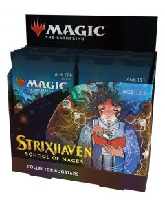 Magic The Gathering: Strixhaven: School of Mages: Collector Booster Box
