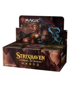 Magic the Gathering: Strixhaven: School of Mages Draft Booster Box