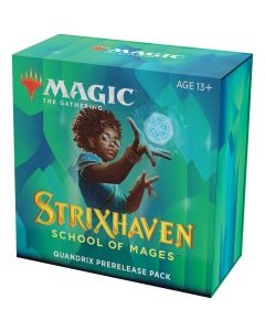 Magic the Gathering: Strixhaven: School of Mages Quandrix Prerelease Pack