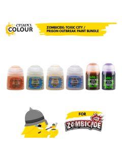 Zombicide: Toxic/Prison Paint Bundle