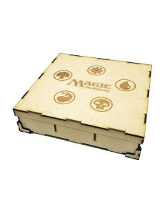 Wooden Box for Card Game (Magic)
