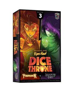 Dice Throne: Season 1 Rerolled: Pyromancer Vs. Shadow Thief