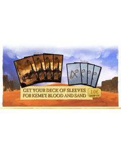 Kemet: Blood and Sand: Card Sleeves