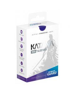 Katana Sleeves Standard Size (100) Blue