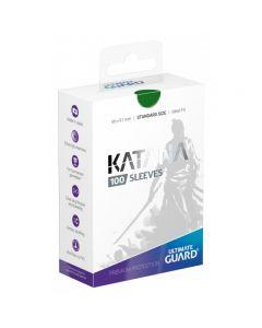 Katana Sleeves Standard Size (100) Green