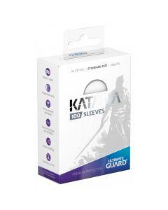 Katana Sleeves Standard Size (100) White