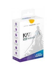 Katana Sleeves Standard Size (100) Yellow