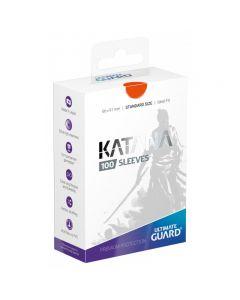 Katana Sleeves Standard Size (100) Orange