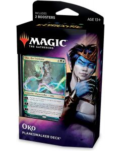 Magic The Gathering: Throne of Eldraine Oko Planeswalker Deck
