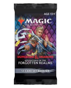 Magic The Gathering: Adventures in the Forgotten Realms: Set Booster Pack
