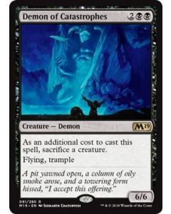 Core Set 2019: Demon of Catastrophes