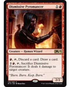 Core Set 2019: Dismissive Pyromancer