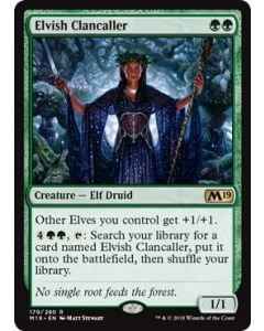 Core Set 2019: Elvish Clancaller