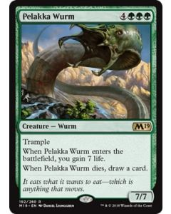 Core Set 2019: Pelakka Wurm